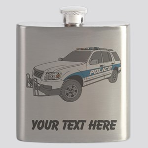 Police Car (Custom) Flask