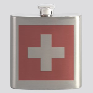 Swiss Flag Flask