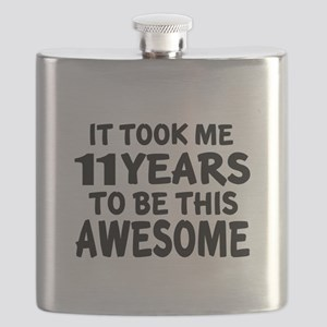 11 Years To Be This Awesome Flask