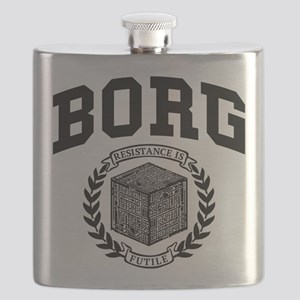 Star Trek Borg College Style Flask