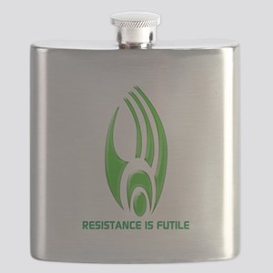 Borg Symbol Personalized Flask
