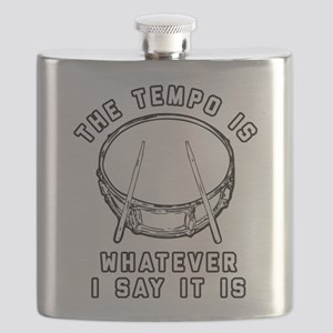 The Tempo Is Whatever I Say It Is Flask