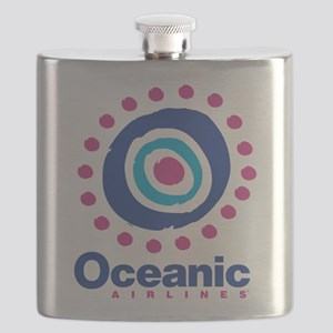 Lost Oceanic Airlines Flask