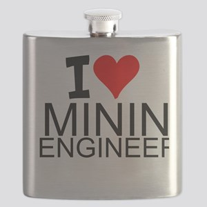 I Love Mining Engineering Flask