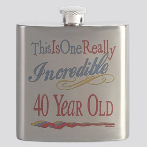 Incredibleat40 Flask