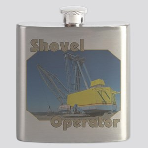 Shovel Operators Flask