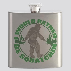 Rather be Squatchin G Flask