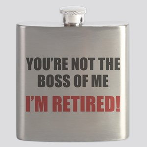 You're Not The Boss of Me Flask