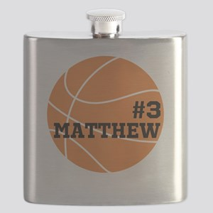 Custom Basketball Flask