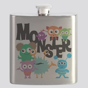 Monsters Flask