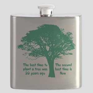 Plant a Tree Now Flask