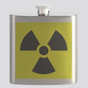 Radiation Warning Flask