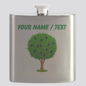 Custom Mulberry Bush Flask