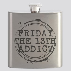 Friday the 13th Addict Stamp Flask