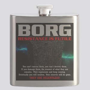 BORG RELENTLESS Flask