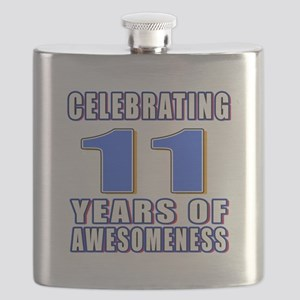 11 Years Of Awesomeness Flask