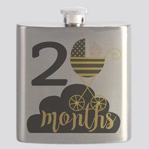2 Months Monthly Milestone Flask