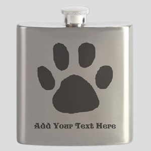 Paw Print Template Flask