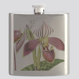 Lady Slipper Orchid Flask
