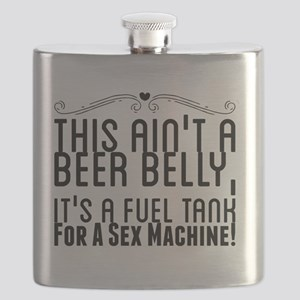 This Ain't A Beer Belly, It's A Fuel Tank Fo Flask
