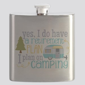 Yes, I do have a retirement plan I plan on c Flask