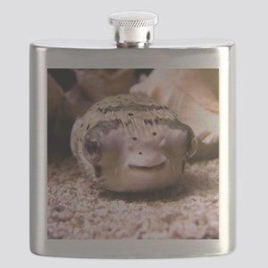 Helaine's Blowfish (Pufferfish ) Flask