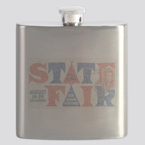 Vintage Iowa State Fair Flask