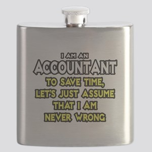 Accountant...Assume I Am Never Wrong Tee Shirt Fla