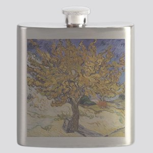 Mulberry Tree by Vincent Van Gogh Flask