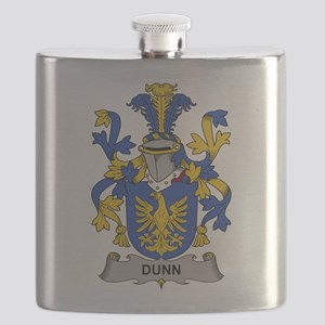 Dunn Family Crest Flask