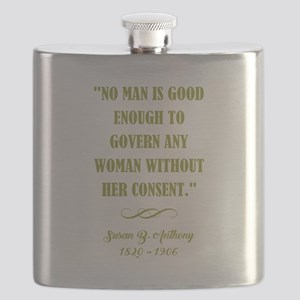 NO MAN IS... Flask