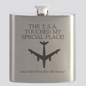 THE T.S.A TOUCHED..... Flask