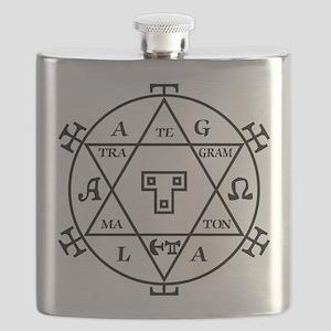 Asmoday Demon Occult Magick Goetia Flasks - CafePress