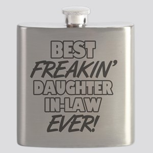 Best Freakin' Daughter-In-Law Ever Flask