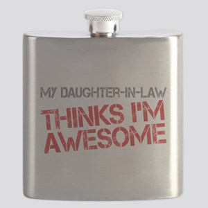 Daughter-In-Law Awesome Flask