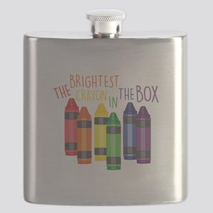 Brightest Crayon Flask