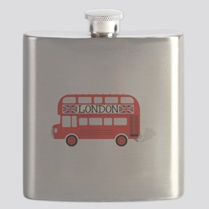 London Double Decker Flask