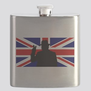 Winston Churchill Victory Flask