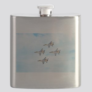 Thunderbirds in Flight Flask