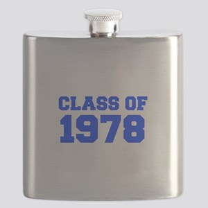 CLASS OF 1978-Fre blue 300 Flask