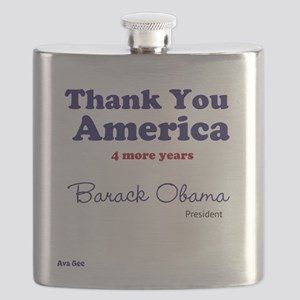 4 More Years Flask