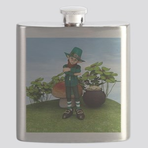 Pot of Gold Flask