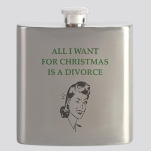 funny christmas divorce joke Flask