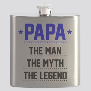 Papa - The Man, The Myth, The Legend Flask