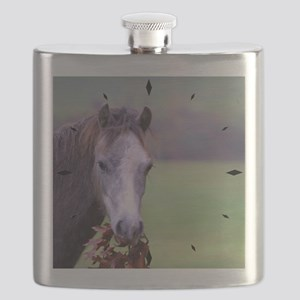 Oak Leaves a good taste in your mouth! Flask