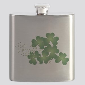 Saint Patrick's Day Flask
