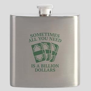 A Billion Dollars Flask
