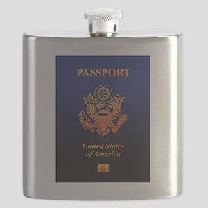 PASSPORT(USA) Flask