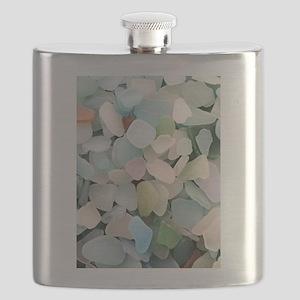 Sea glass Flask