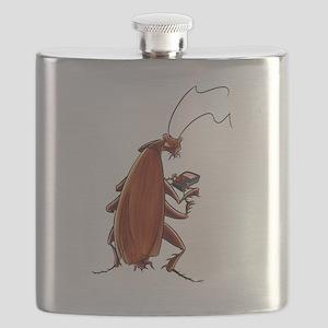 Nuclear button roach Flask